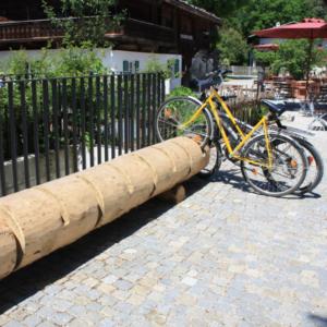 Sykkelstativer-økostativer Timber